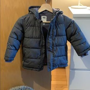 Old Navy puffer coat 4t